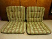 2 Stuhlpolsterauflagen