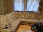 Verschenke große Couch