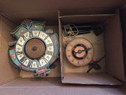 Einzeiger Uhren Holzräderuhren Waagbalkenuhren