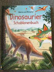 Neu Usborne Schablonenbuch - Dino