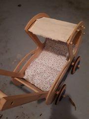 Lauflern-Holzpuppenwagen