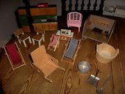 Puppenmöbel Einzelteile