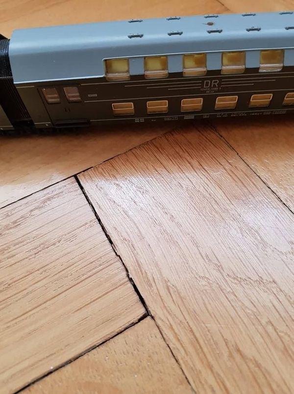 Modell Eisenbahn Doppelstockzug