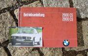 Betriebsanleitung BMW 2800 CS Coupé