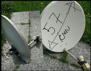 Satelliten SAT TV Antenne Antennenschüssel