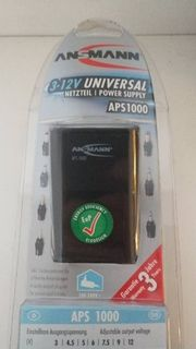 Ansmann Netzteil universal 1000 mA