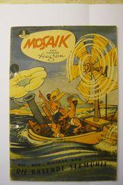 Original-MOSAIK von Hannes Hegen Nr