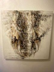 Bild mit Elephant Dekoration