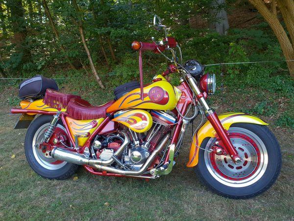 Harley-Davidson Custom Bike FXR Grundmodell