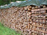 Regionales Brennholz ofenfertig