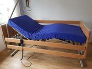 Pflegebett elektrisch mit spezial Matratze