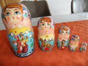 Matroschka Matruschka Holzpuppen 5 Stück