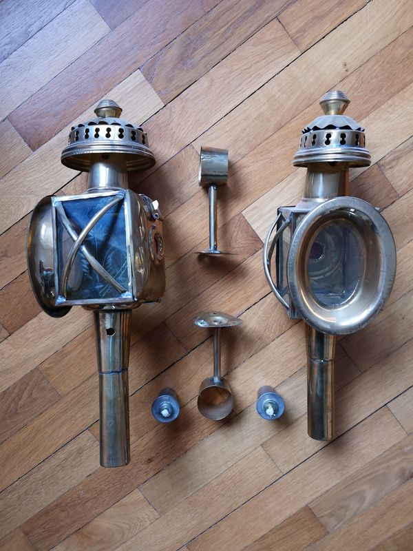 Kutschenlampen antik