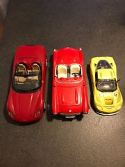 3 Corvette Modellautos