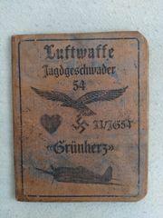 Luftwaffe Grünherz Dokument