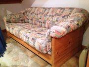 Sofa Zweisitzer Massiv Holz 2500 -