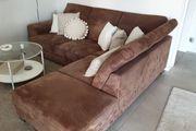 Sofa braun zu verschenken