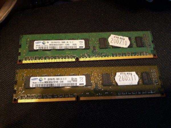 2GB Samsung DDR3 ECC Ram