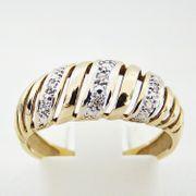 Ring Gold 585er Diamanten Goldschmuck