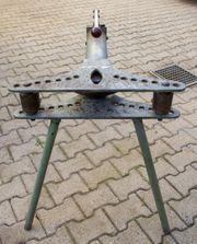 Dreibein Rohrbiegemaschine mit hydraulischer Handpumpe
