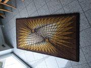 Handgeknüpfter Teppich aus Schurwolle