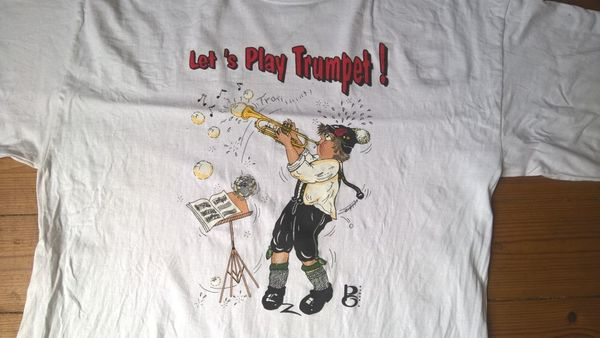 Lustige Musikmotive T-Shirts Lets Play