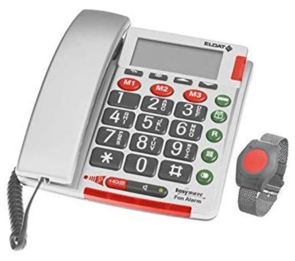 neues Notruftelefon Eldat Easywave Fon