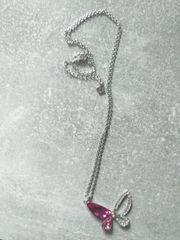 925 Halskette mit Topaz Zirkonen