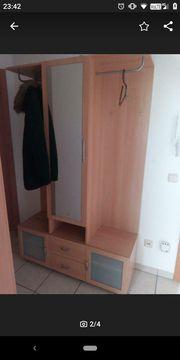 Flurgarderobe Garderobe Schrank