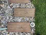 Betonplatten in Holzoptik