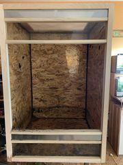 OSB Holz Terrarium Hochterrarium 80x80x120