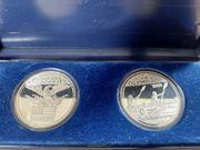Silbermünzen Olympische Spiele 1984