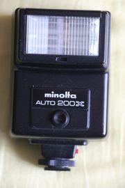 Blitzgerät Minolta Auto 200X
