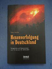 inkl Versand Hexenverfolgung in Deutschland