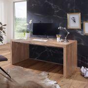 Myhomelando Schreibtisch BOHA Massiv-Holz Akazie