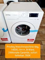 Privileg Waschmaschine 6kg 1400U