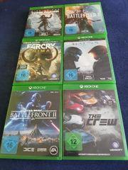 Verkaufe hier 11 Xbox one