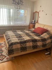 Boxspringbett RUF-Betten mit Lederrahmung 160X200