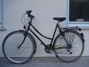 Damenrad schwarz