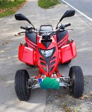 quad Adly ATV300S