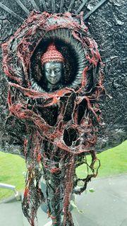 Schöne Buddha Dekoration Handarbeit Unikate