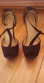 High Heels 37 schwarz