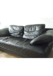 Rolf Benz Sofa Couch schwarz
