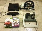 Xbox 360 Slim mit Kinect