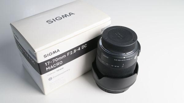 Sigma 17-70mm F 2 8-4