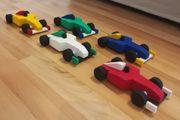 Holzspielzeug - Rennwagen