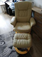 Relax Sessel beige