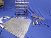Fleischerzubehör Hygienebox Messer Stechhandschuh Stahl