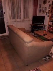3-Sitzer Sofa braun