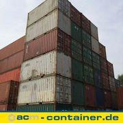 20 fuß Seecontainer gebraucht - C